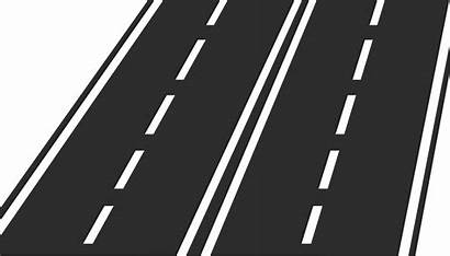 Svg Road Icon Lane Highway Clipart Map