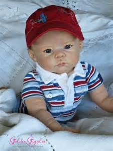 Baby Boy Reborn Dolls by Linda Murray