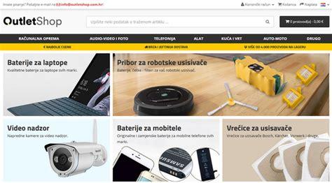 OutletShop - nova trgovina tehničkom robom sa super cijenama