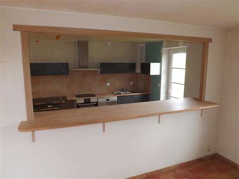 fabriquer plan de travail cuisine agencement intérieur relooker logement empreinte bois
