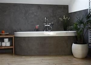 Putz Für Bad : ein bad in kalkputz betonlook wohnung bad putz und wandgestaltung bad ~ Watch28wear.com Haus und Dekorationen