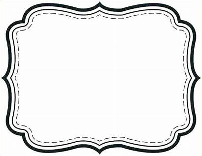 Printable Fancy Label Template Templates Labels Tag