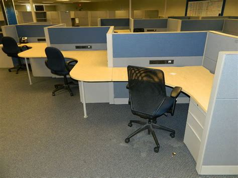 office cubicles teknion leverage  serpentine