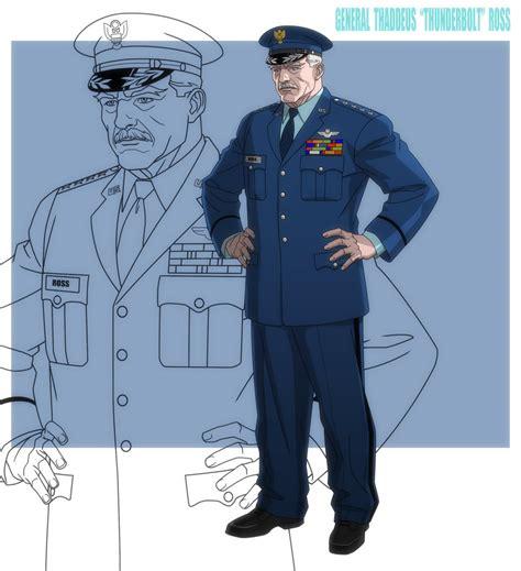 General Thunderbolt Ross By Jerome-k-moore On Deviantart