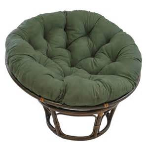 international caravan 42 quot rattan papasan chair with