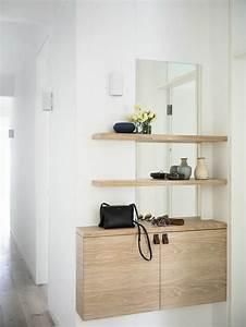 Meuble Entrée Ikea : comment sauver d 39 espace avec les meubles gain de place ~ Teatrodelosmanantiales.com Idées de Décoration