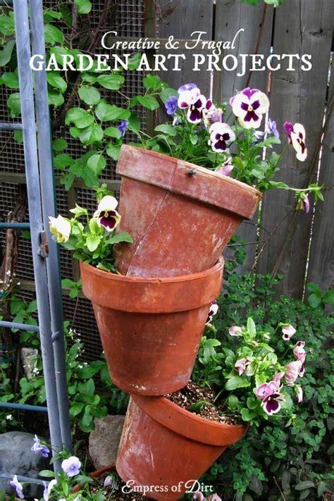 images  garden art junk decor