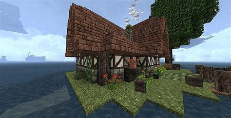 fantasy island cottage minecraft map
