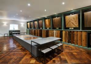 wood flooring showroom in woodworks