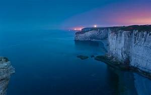 Photography, Sea, Water, Night, Nature, Landscape, Cliff