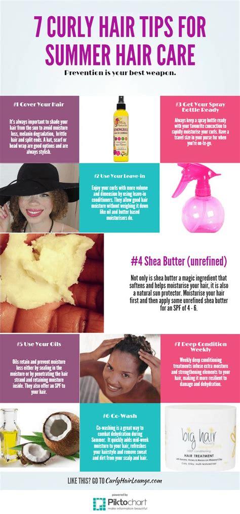 7 Curly Hair Tips For Summer Hair Care  Hair Styles