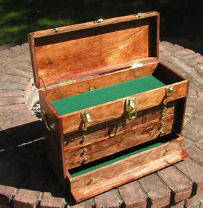 PDF DIY Gerstner Style Tool Chest Plans Download gun shelf