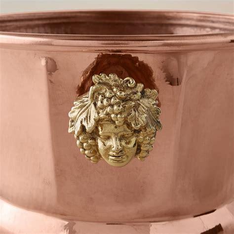 ruffoni historia hammered copper octagonal wine bucket