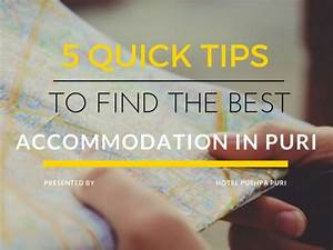 5 Quick Tips To Find The Best Accommodation in Puri