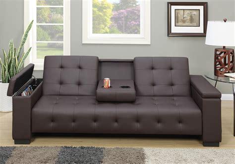 Sofa Bed by Adjustable Sofa Bed Futon Sleeper Drop Console