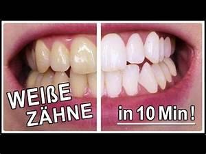 Weiße Zähne Hausmittel : wei e z hne in 5 minuten selber aufhellen youtube kosmetik pinterest wei e z hne ~ Frokenaadalensverden.com Haus und Dekorationen