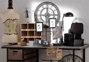 Objet Deco Style Industriel : id e pour une belle d coration bureau style industriel ~ Melissatoandfro.com Idées de Décoration