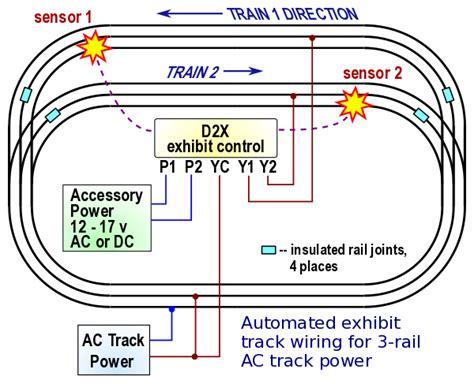 Railroad Automatic Two Train Exhibit Controller