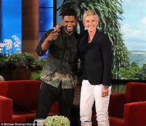 kid  Usher confirmed his return for another season of The Voice      Usher Afro The Voice