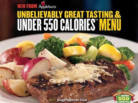 applebee s light menu applebee s color cuisine and coupons so