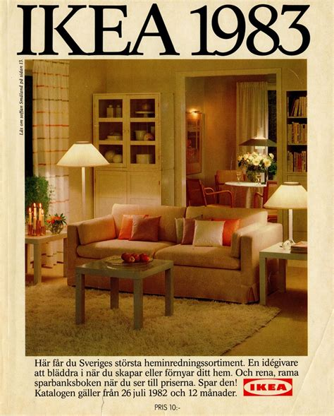 home design catalog ikea 1983 catalog