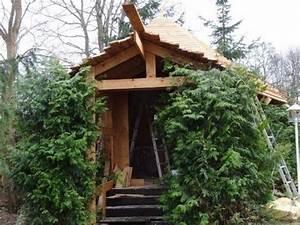 Wie Baue Ich Eine Sauna : wir bauen eine grillh tte teil 5 dacheindeckung ~ Lizthompson.info Haus und Dekorationen