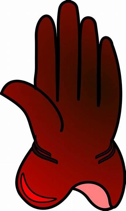 Glove Clipart Gloves Clip Winter Vector Boxing