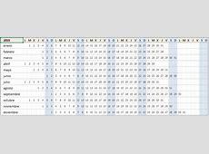 Calendario 2019 en Excel Plantilla gratis y lista para