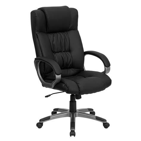 high back black leather executive office chair bt 9002h bk gg