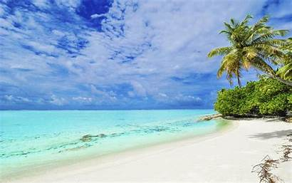Bora Beach Water Sand Clear Island Wallpapers