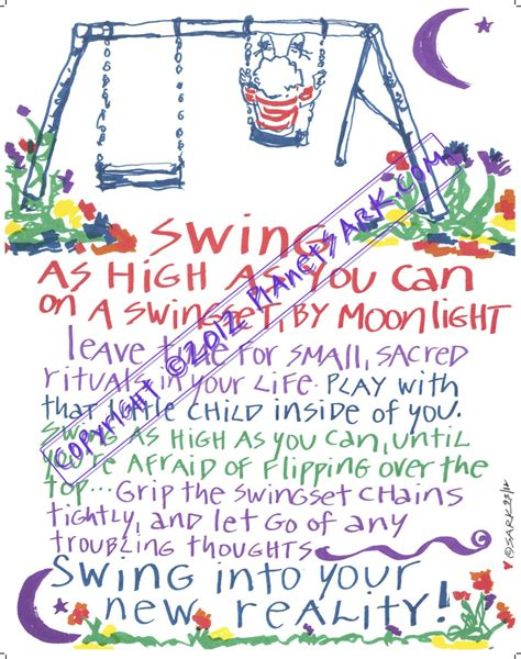 Swing Words by Sark Posters Planet Sark