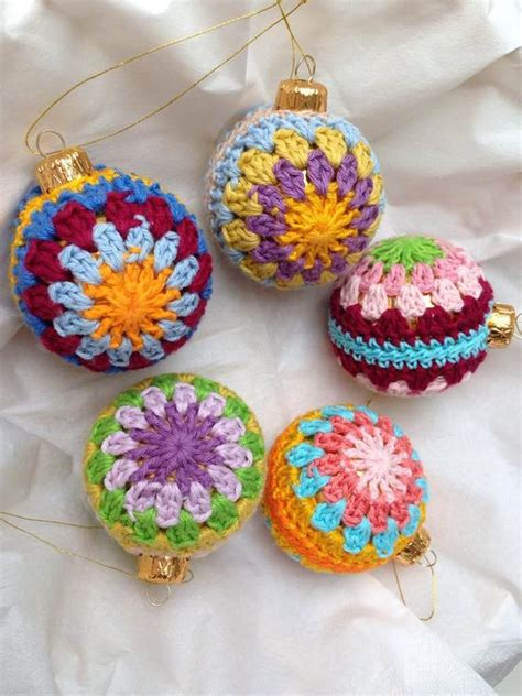 wonderful diy crochet christmas ornaments