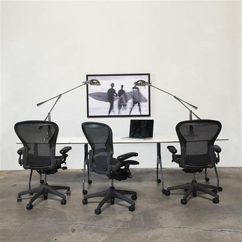 herman miller aeron chair los angeles modern resale