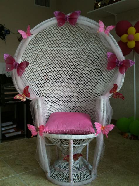 nice decoration ideas baby shower mothers chair baby