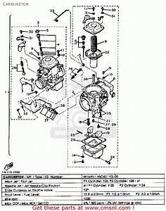 Yamaha Xv920 Virago 1982  C  Usa Carburetor
