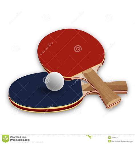 ping pong paddles stock illustration of paddles 11795230