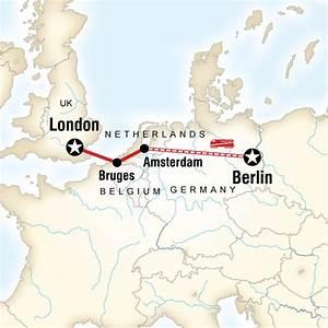 Von Berlin nach London mit kleinem Budget in Deutschland ...