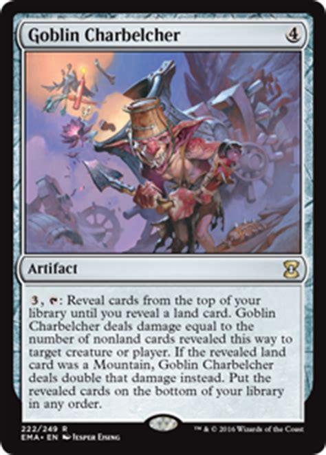 Goblin Charbelcher Edh Deck gwendlyn s belcher multiplayer commander decklists