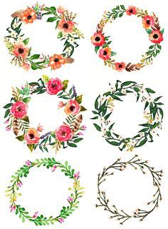 flower frames  lace digital clipart ribbons  frames