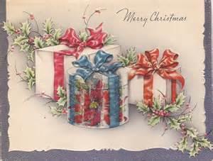 vintage christmas card x carla at home