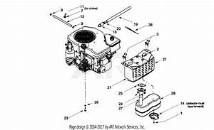 Mtd 13ax604g402  1999  Parts Diagram For Muffler  Engine