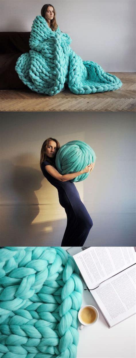 Extrem Dicke Wolle by Pin Drosi Auf Wool Armstricken Stricken Mit Dicker