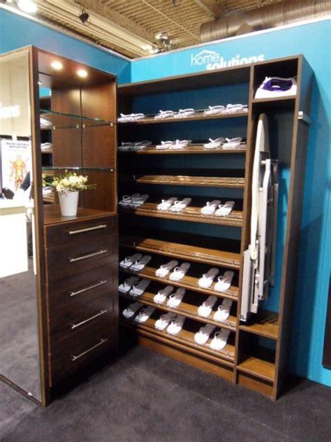 create  decent space   shoe racks  closets