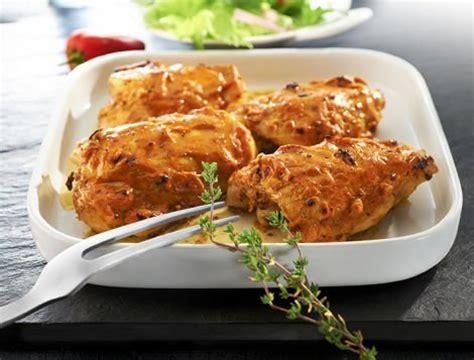 hauts de cuisse de poulet sauce diable recette du