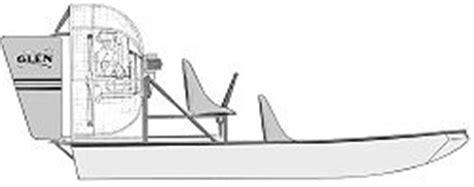 Airboat Drawings by 13 Airboat Sw Boat Boatdesign