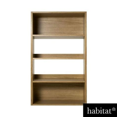 Habitat Kuda Low Wide Bookcase H150cm Kazio