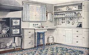The Little Red Chair: The 1920's Kitchen Tour