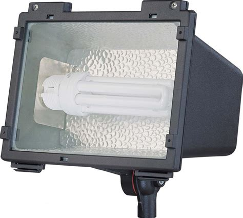 nuvo compact fluorescent landscape flood light 42w plt
