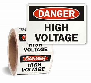 high voltage labeling requirements quotes With high voltage warning label requirements