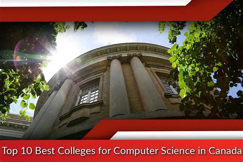 top   colleges  computer science  canada